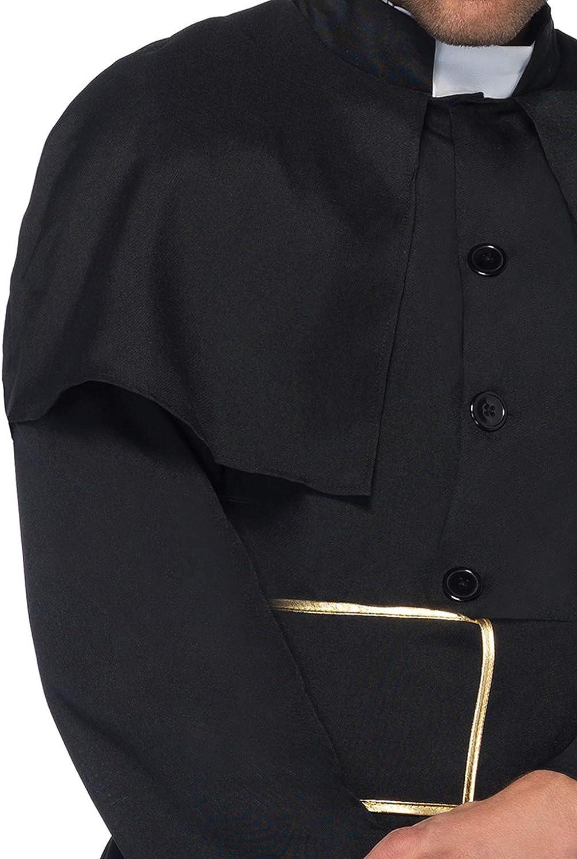 Leg Avenue- Sacerdote Hombre, Color Negro, Large (8533406001): Amazon.es: Salud y cuidado personal