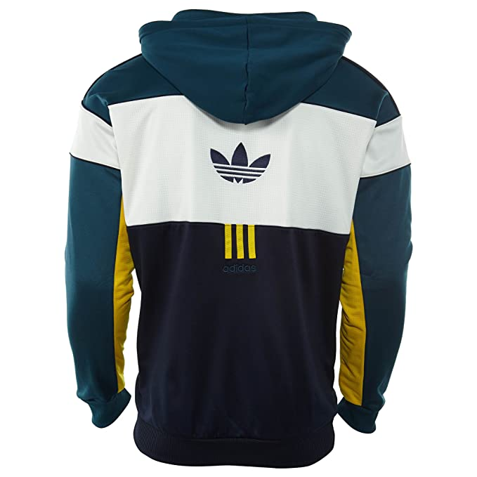 Amazon.com: adidas Men Originals ID96 Hoodie #AY9255 (2XL): Sports & Outdoors