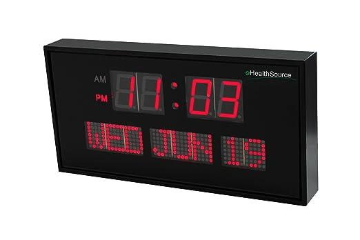 Ehealthsource Digital Led Calendar Clock Review Safety Com