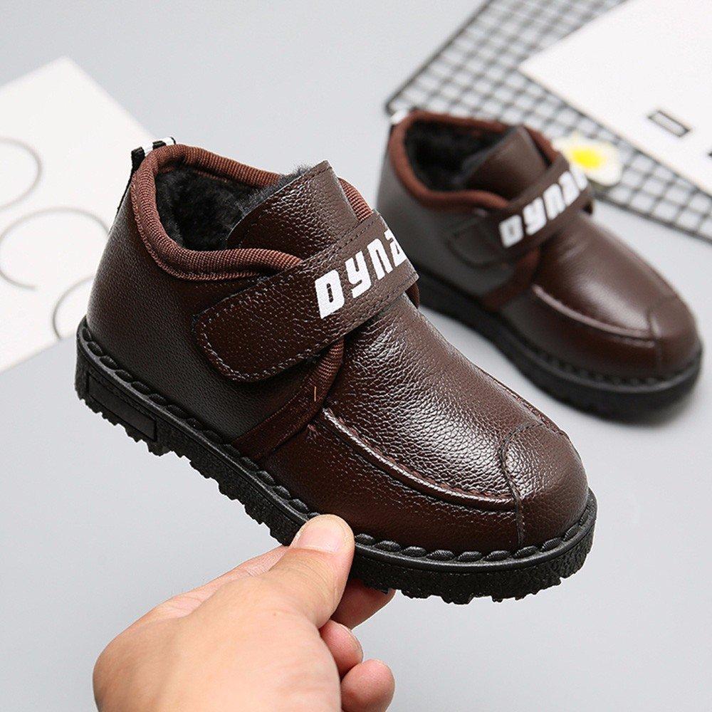 TTMall Scarpe Sportive Bambini Moda Ragazzi Sneaker Calda Sporca Sport Pattini Casuali Correnti (29, marrone)