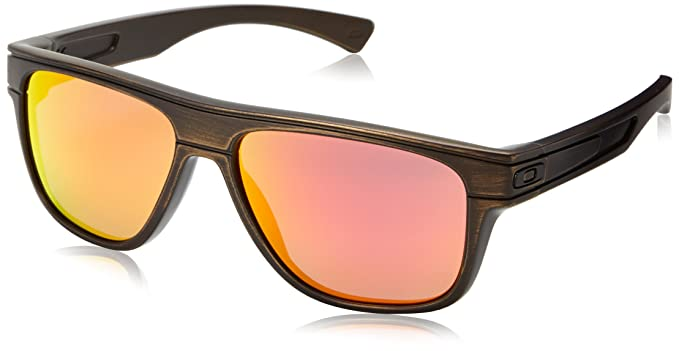 e0c2c4c5e2 Amazon.com  Oakley Men s Breadbox OO9199-16 Rectangular Sunglasses ...