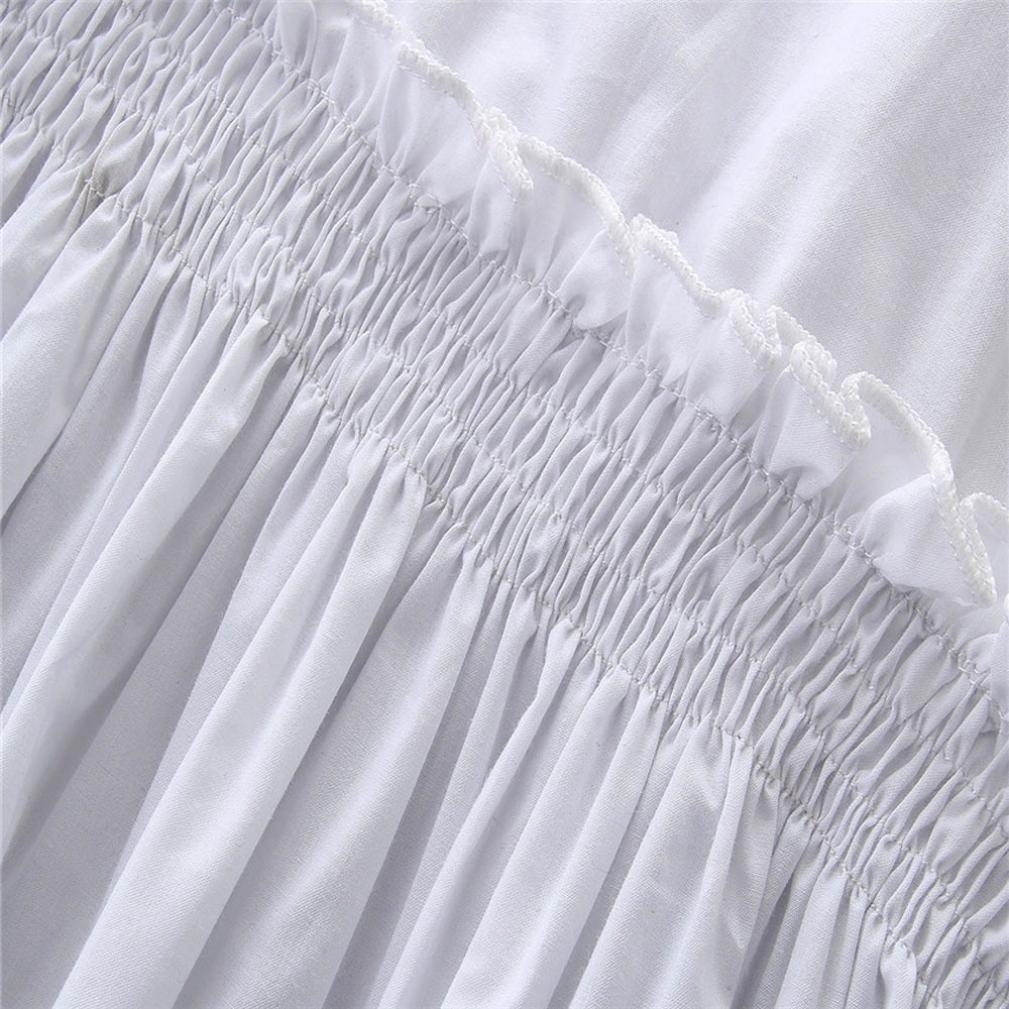Jchen Girls Denim Pants Set, TM Fashion 2Pcs Toddler Kids Baby Girls Solid Tops+Denim Pants Outfits