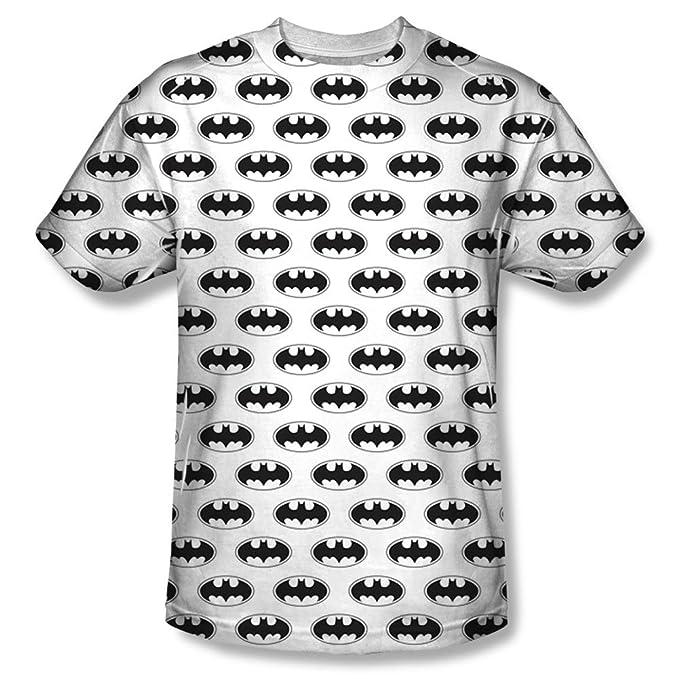 Batman – Camiseta de murciélagos de todo tamaño S