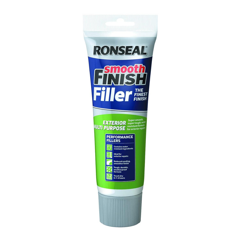 Ronseal RSLEF300 Tube d'enduit de rebouchage multiusage pour exté rieur Fini lisse 330 g 6886444-HHW