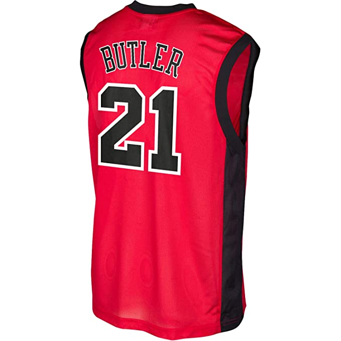sneakers for cheap ea5b8 ef127 Amazon.com: Jimmy Butler Chicago Bulls #21 Red Infants ...