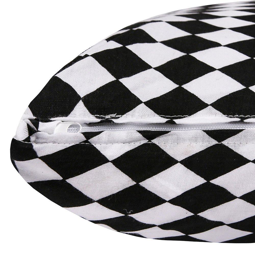 White Weiches und bequemes Kissen zum Schlafen und Ausruhen Farbe LULANDO SleepSide Seitenschl/äferkissen Schwangerschaftskissen Lagerungskissen K/örperkissen 145x40 cm Black Diamonds