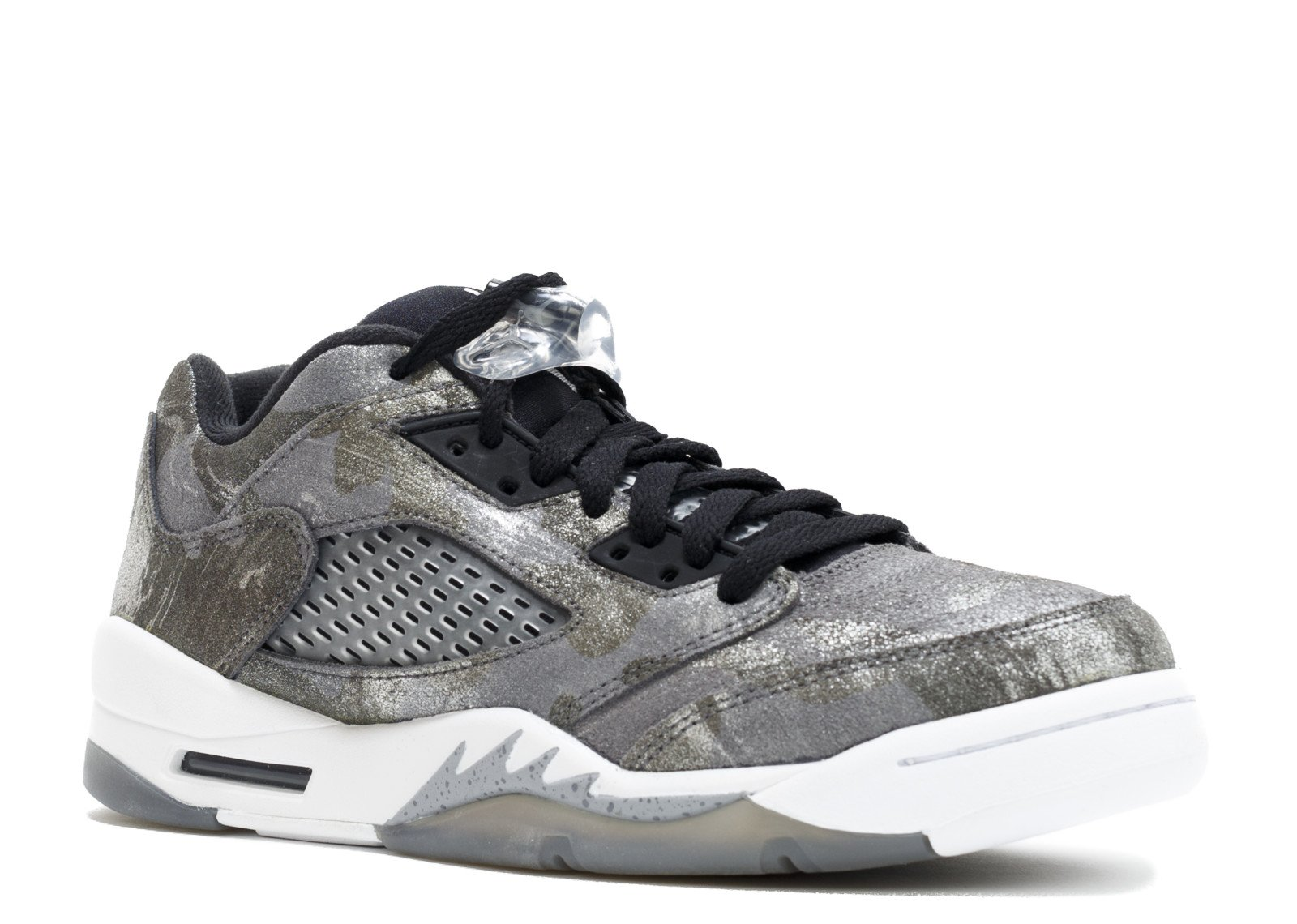 Nike Air Jordan 5 Retro Prem Low GG Grey/Black 819951-003 (SIZE: 8.5Y)
