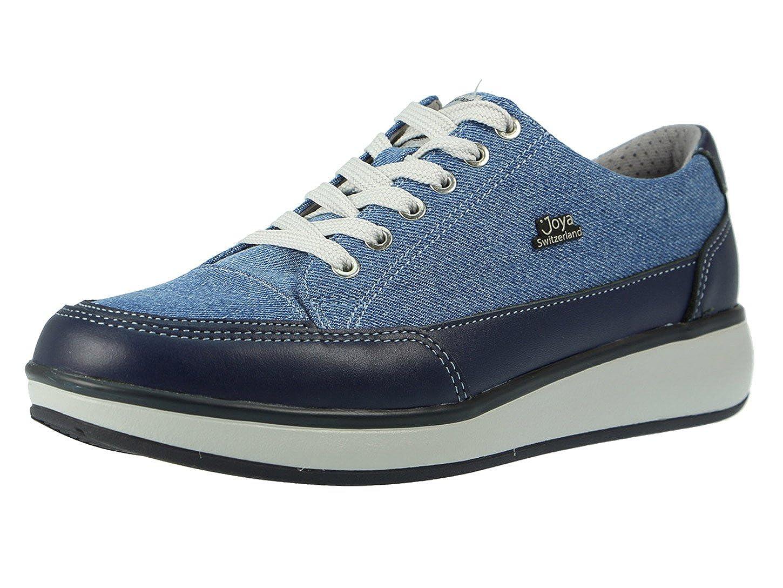 Joya Damen Schnuerschuhe Damen Schnürschuhe Sonja Blau Jeans blau 90526  | Genialität  | Guter Markt