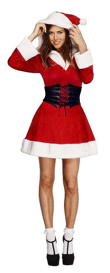 SMIFFYS Costume Fever da Mamma Natalina con cappuccio 6b19085fcd4