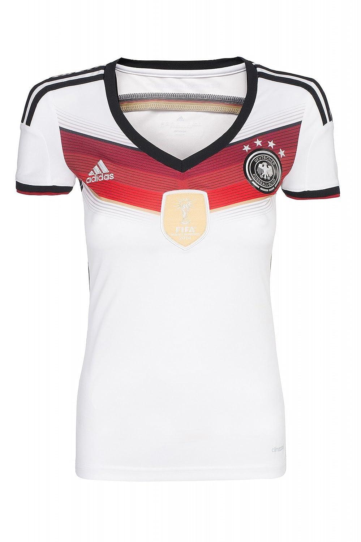 adidas DFB Home Trikot 4 Sterne Damen Heimtrikot Weltmeister (weiß ...