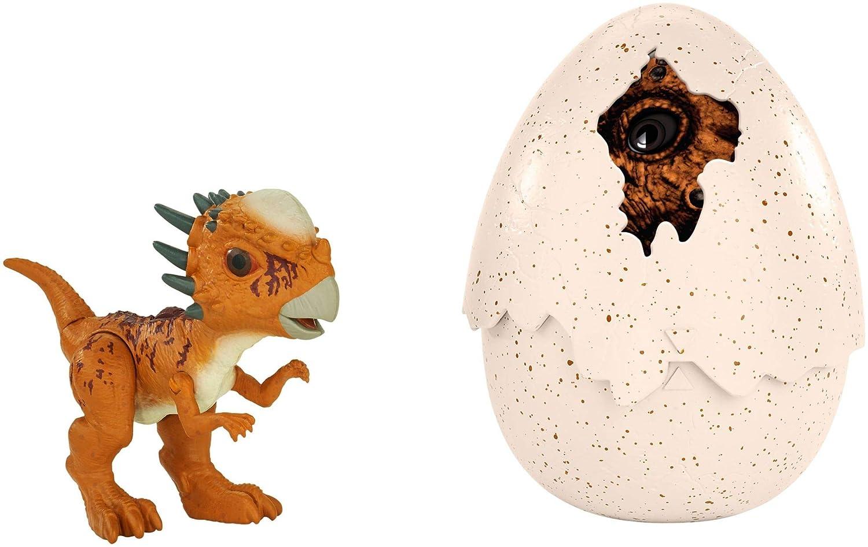Mattel Jurassic World FMB94 - Schlüpfender Dino Stygimoloch FMB95