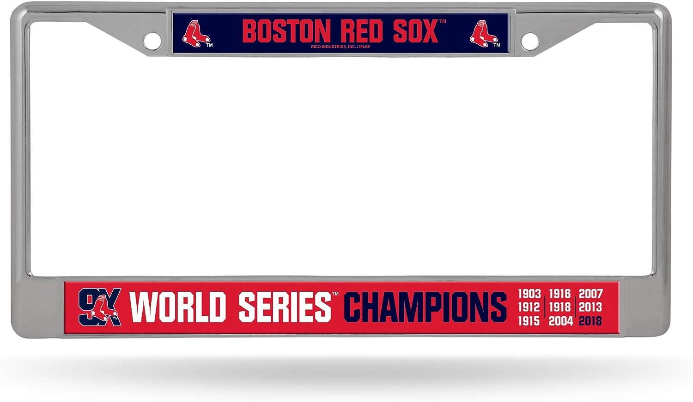 Rico MLB Metal Tag License Plate