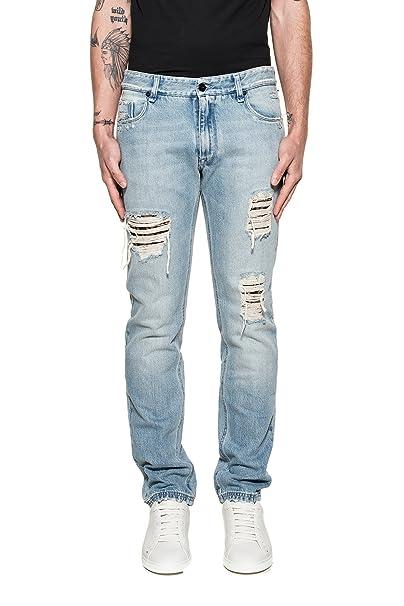 online store 6066a 8383a Fendi - Jeans - Uomo Blau Taglia produttore 38: Amazon.it ...