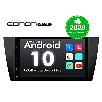 Car Stereo Double Din Car Stereo, Android Head Unit Android 10 Eonon Car Stereo Applicable to 3 Series E90/E91/E92/E93, 9 Inch Support Split Screen, Android Auto Built-in Apple Carplay/DSP -GA9465B: Electronics