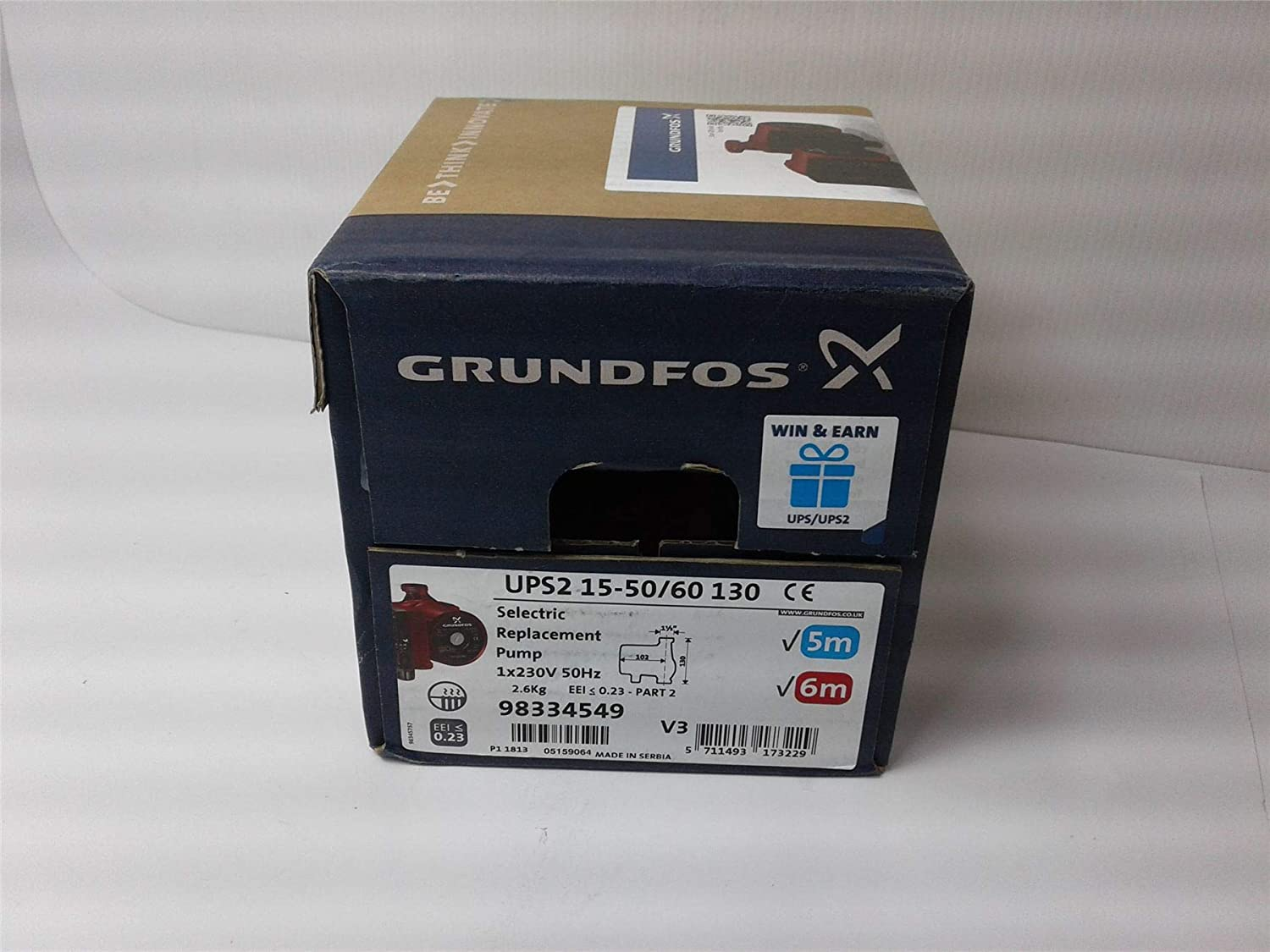 Fabulous Grndfos Ups2 15 50 60 Circulating Replacement Pump Amazon Co Uk Wiring Digital Resources Remcakbiperorg