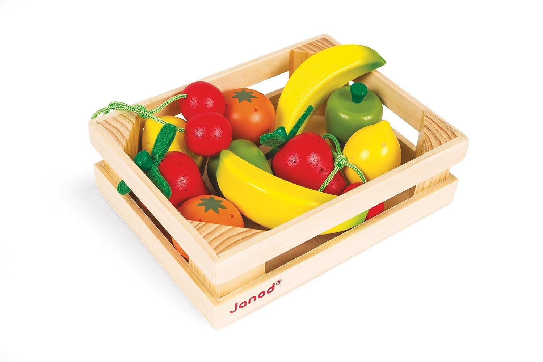 Janod – Obstkiste, 12 Früchte