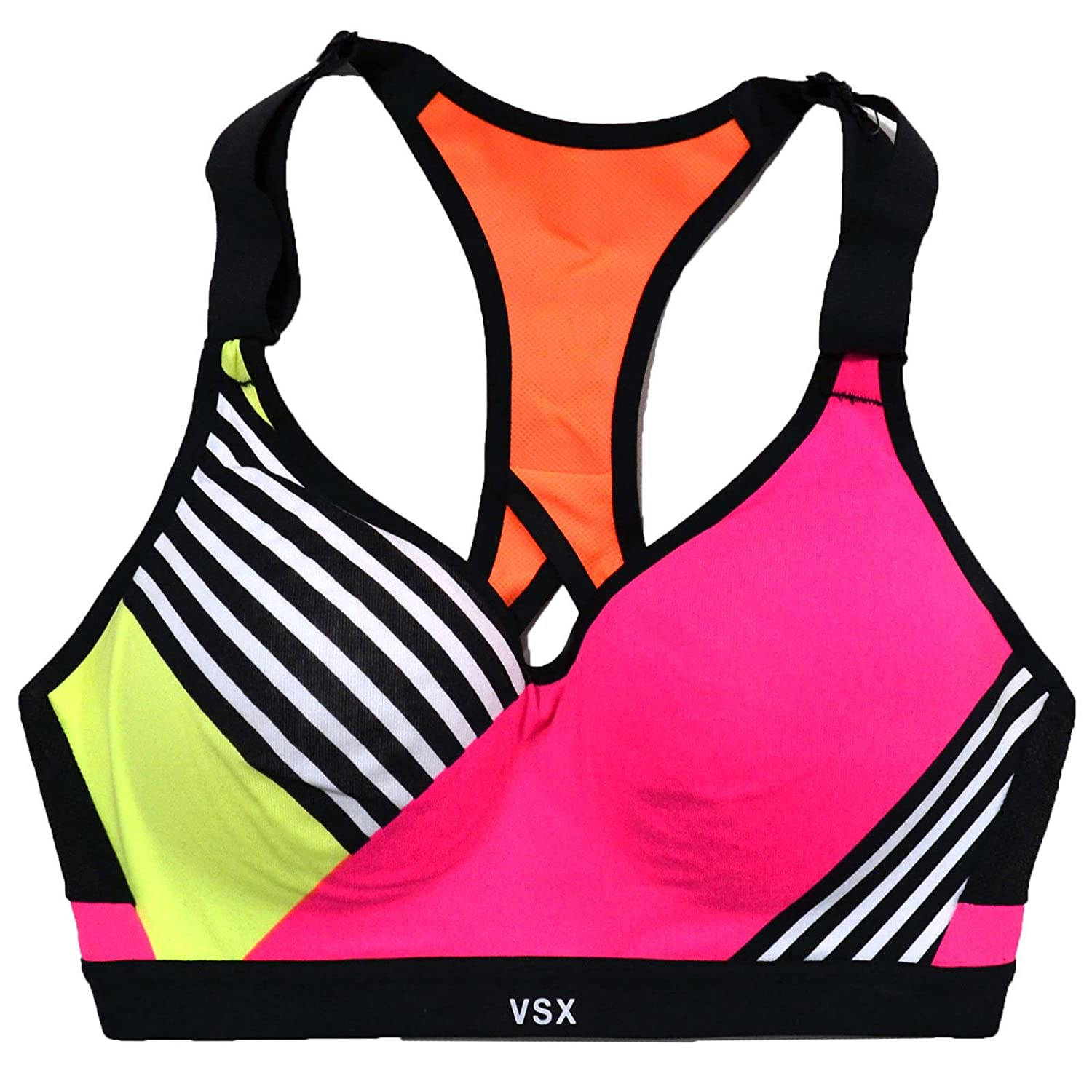 2728597154 Victoria's Secret Incredible Padded Colorblock Sports Bra at Amazon ...