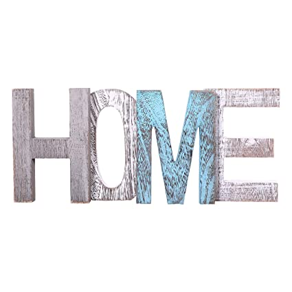 amazon com comfify home decorative wooden letters large wood