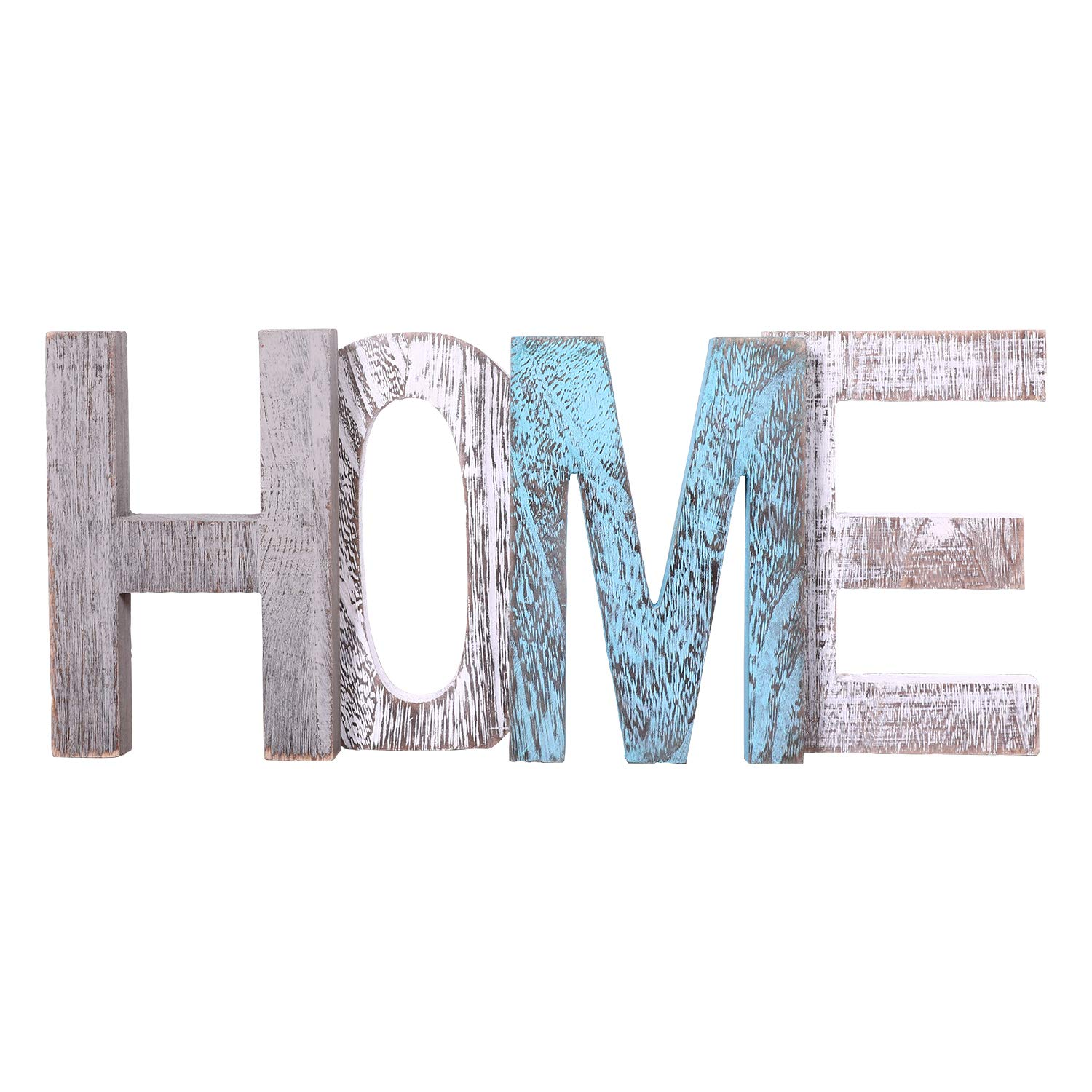 """Comfify """"Home"""" Decorative Wooden Letters - Large"""