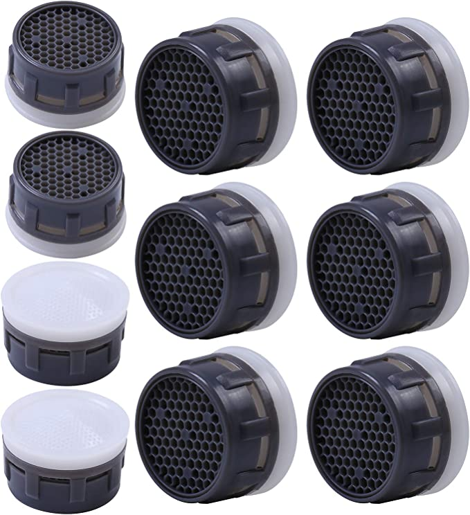 21mm Acero Inoxidable Grifos Aireadores Insertar Grifo de Repuesto Pieza de Filtro de Agua Adaptador de Grifo de Flujo Restrictor Accesorio
