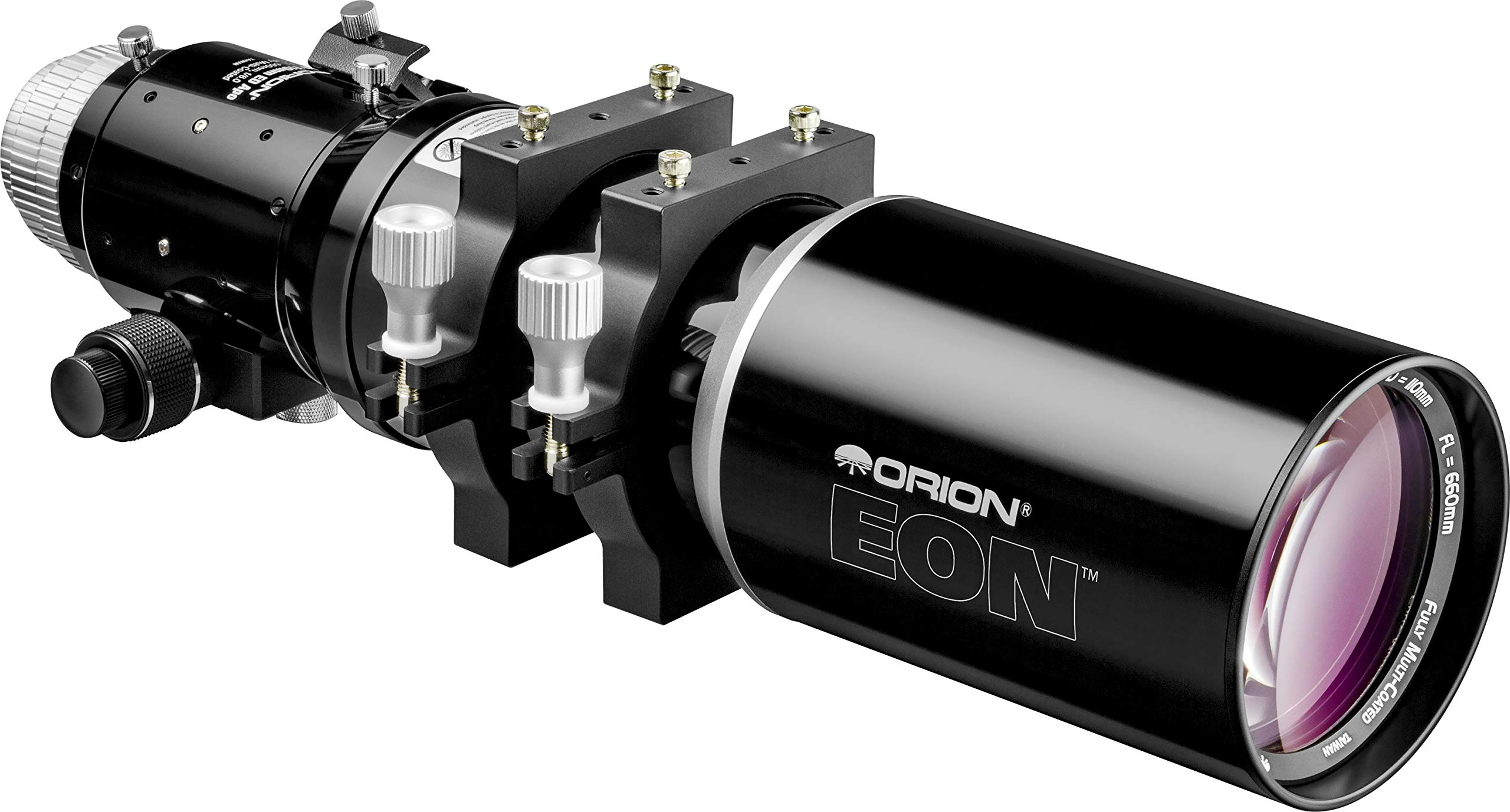 Orion 10031 EON 110mm ED f/6.0 Apochromatic Refractor Telescope (Black) by Orion
