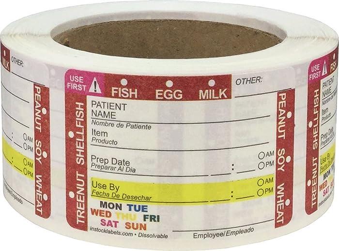 Top 10 Food Shelf Life Labels
