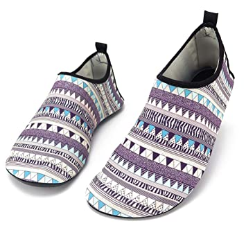 TZTED Calcetines Calzado Zapatos Quick-Dry Snorkel Surf Piscina Calzado De Natación Secado Rápid para Buceo Playa Yoga Deportes Acuáticos: Amazon.es: ...