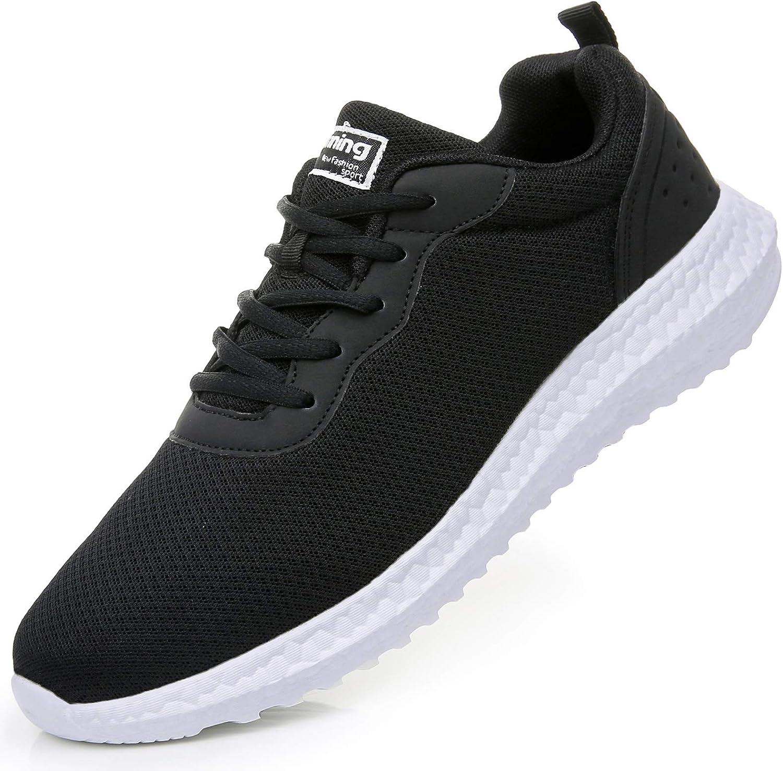 GOOBON Men s Non Slip Mesh Running Sneakers Lightweight Athletic Tennis Walking Shoes US7-12