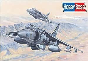 Hobby Boss 081804 1/18 AV -8B Harrier II plástico Maqueta