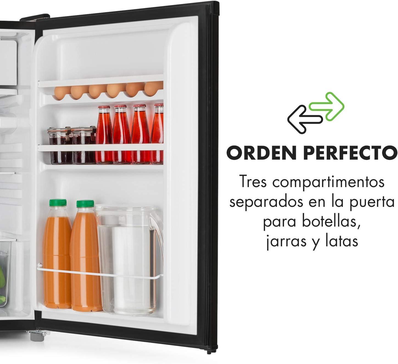 Klarstein Samara - Frigorífico, Nevera, Cajón congelador ...