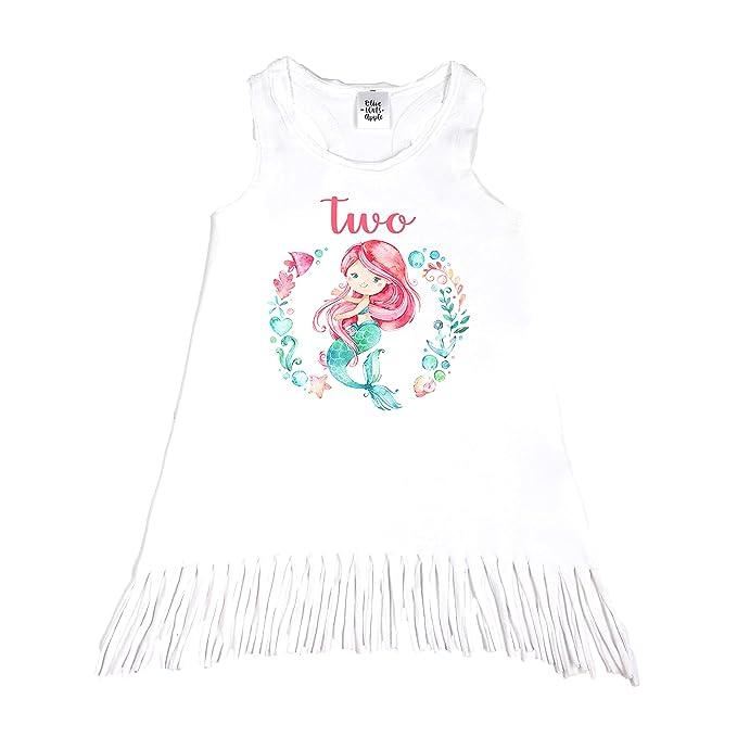 Amazon.com: Oliva Loves Apple niñas de 2 nd cumpleaños traje ...