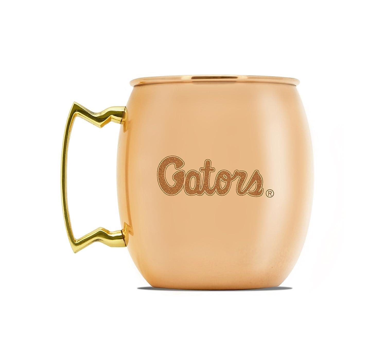 NCAA Florida Gators 16oz Copper Moscow Mule Mug