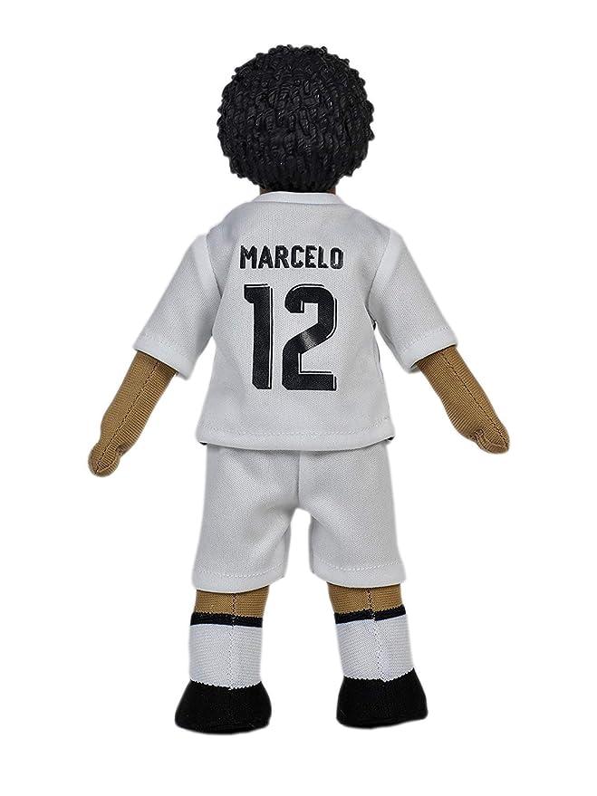 Producto Oficial Real Madrid CF Muñeco Real Madrid CF 2018-2019 Peluche - 25cm - Marcelo 12: Amazon.es: Deportes y aire libre
