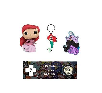 Amazon.com: Disney Ariel Bundle: Ariel in Gown Funko Pop ...