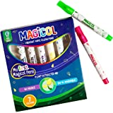 Magicol Vibrant Washable Markers – 7 Beautiful Colors – Washes Out Incredibly Easily – Comes Right Out Of Clothes – Easily Removed From Skin, Furniture and Walls , non toxic