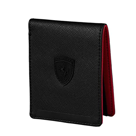 47d8d7c8ad Amazon.com: Puma Ferrari Wallet Black: Sports & Outdoors
