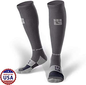 MudGear Premium Compression Socks - Mens & Womens Running Hiking Trail (1 Pair)