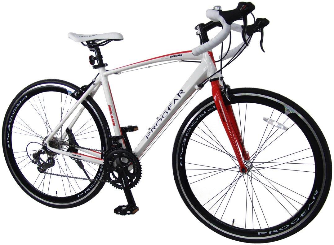 C.Dream(シードリーム) ディケイドロード R70 ロードバイク 14段変速 ホワイト/レッド 100%組立済み発送 B014UQCKUM
