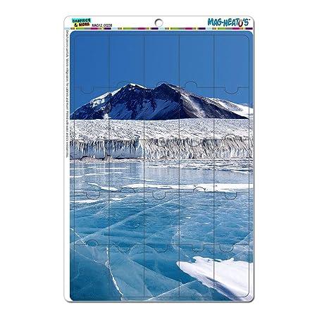 La Antártida polo sur hielo fluye (TM) del mag-Neato comprés ...