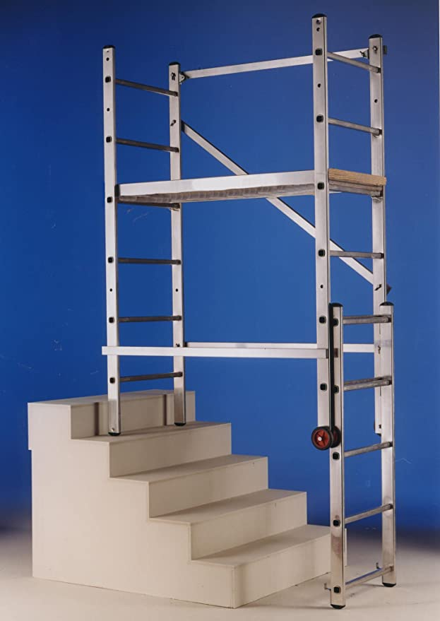 Escalera Andamio Mago - Svelt 3 X 6 Tramos Aluminio: Amazon.es: Instrumentos musicales