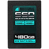 "Inland Professional 480GB SSD 3D NAND SATA III 6Gb/s 2.5"" 7mm Internal Solid State Drive (480G)"