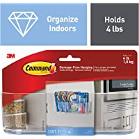 Command Clear Caddy, Large, 1-Caddy, 4-Strips (HOM15CLR-ES)