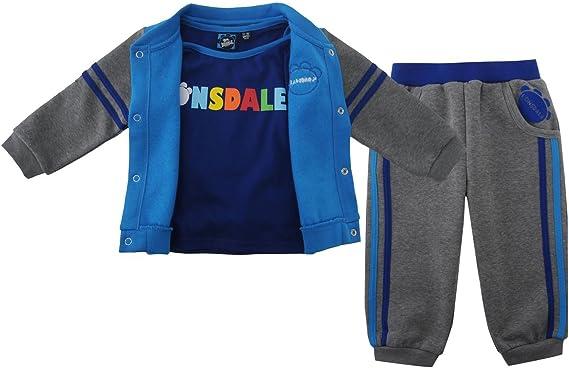 Lonsdale Kids tres pieza Bebé Jogger – Conjunto Chándal para ...