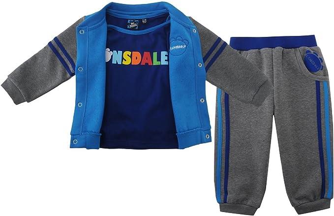 Lonsdale Kids tres pieza Bebé Jogger – Conjunto Chándal para niño ...