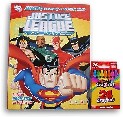 Avengers vs Justice League Coloring Page - NetArt | 406x425