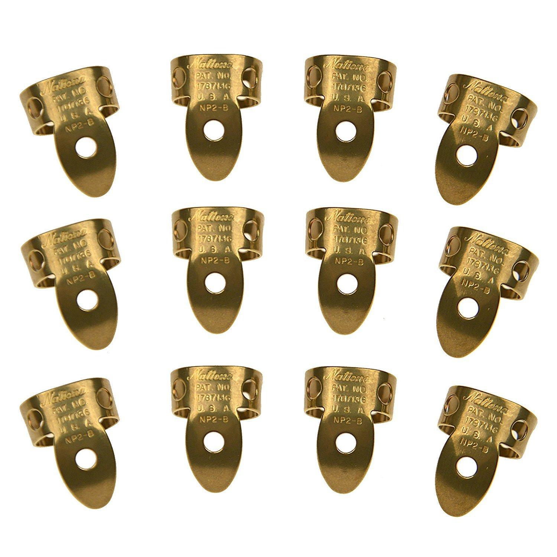 4 Pack Brass National NP-2B-4PK Finger Picks