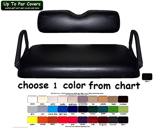 Amazon E Z Go Txt Custom Golf Cart Seat Cover Set Made With