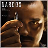 Narcos 2018 12 x 12 Inch Monthly Square Wall