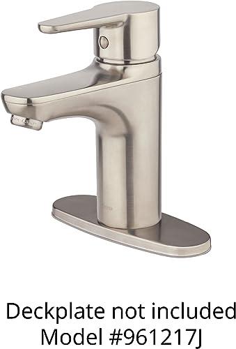 Pfister LG142060K Pfirst Modern Bathroom Sink Faucet, Brushed Nickel
