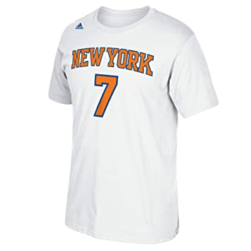 Adidas NBA New York Knicks Carmelo Anthony #7 - Camiseta de Manga Corta para Hombre, Talla XXL, Color Blanco: Amazon.es: Deportes y aire libre